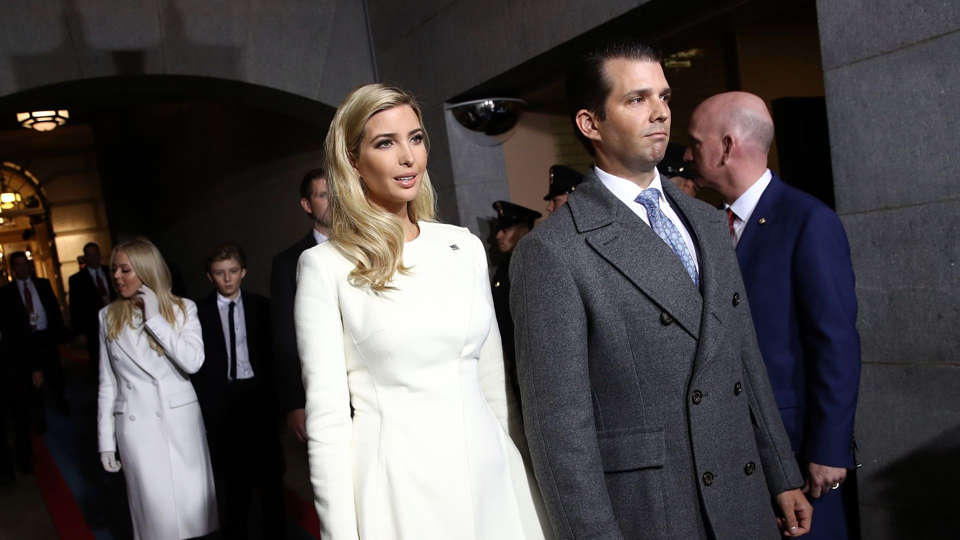 Ivanka and Donald Trump Jr.