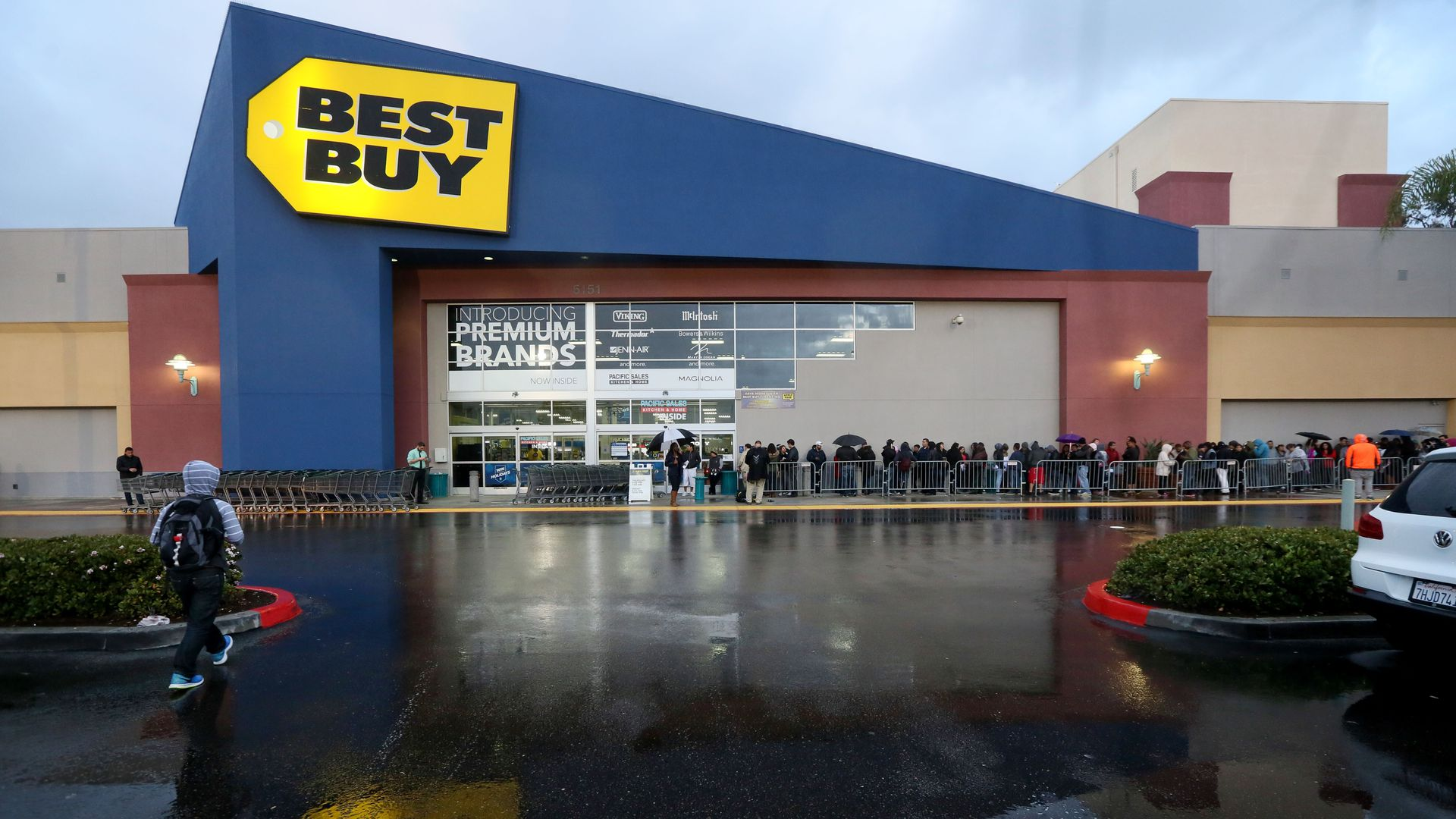 Photo of a Best Buy store