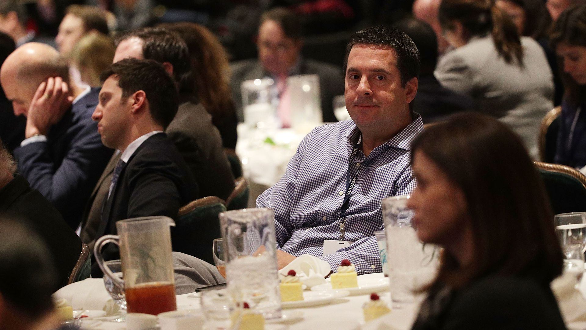 Rep. Devin Nunes at a Trump event