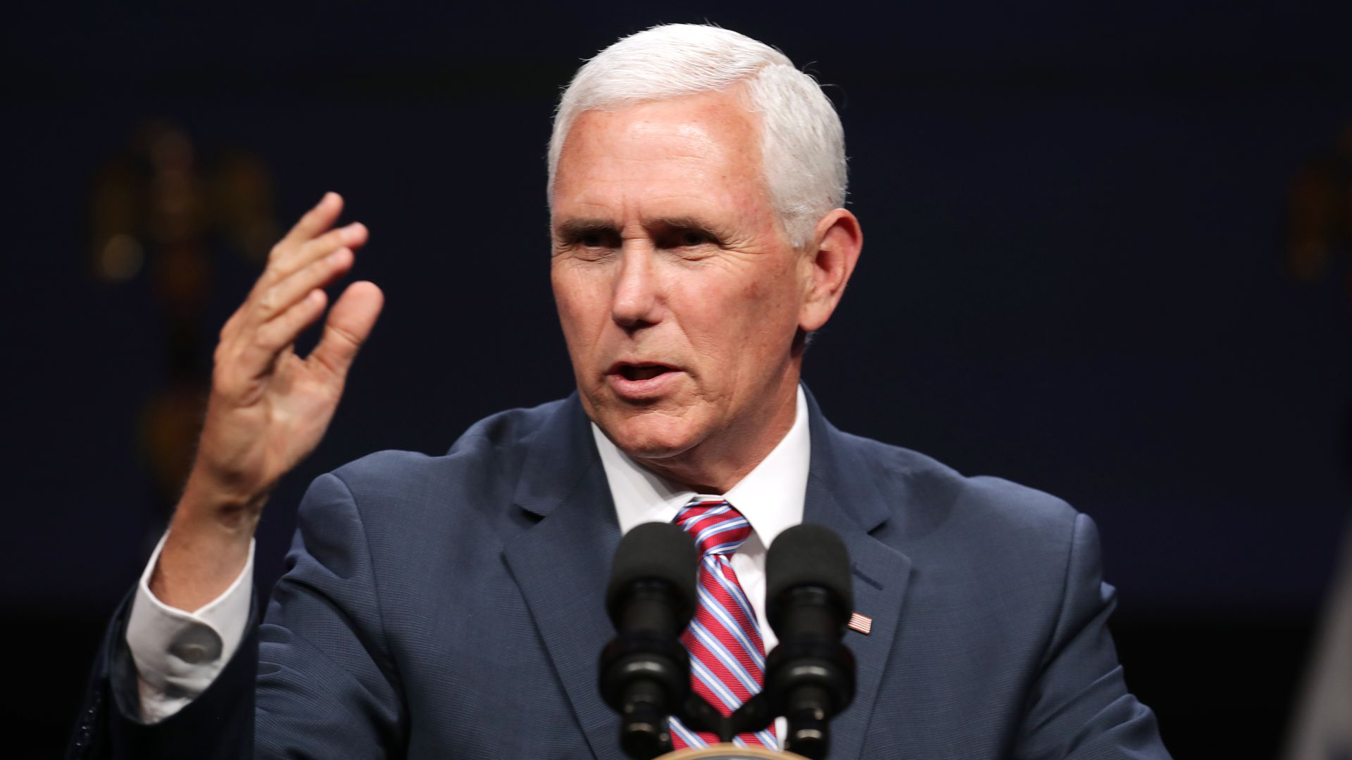 """Pence tells students to prepare for """"anti-Christian persecution"""" from """"secular left"""""""