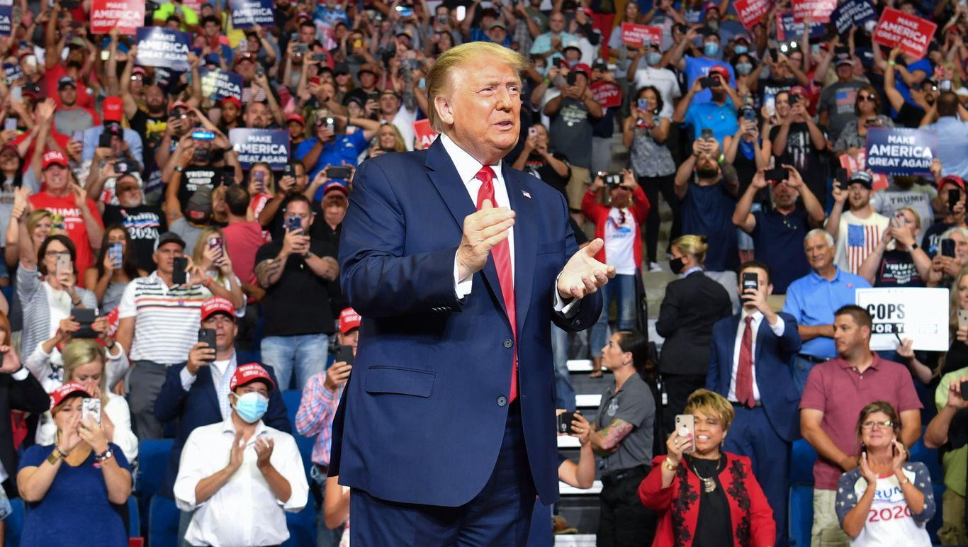 Trump cranks up culture war rhetoric at Tulsa arena that was far from sold out thumbnail