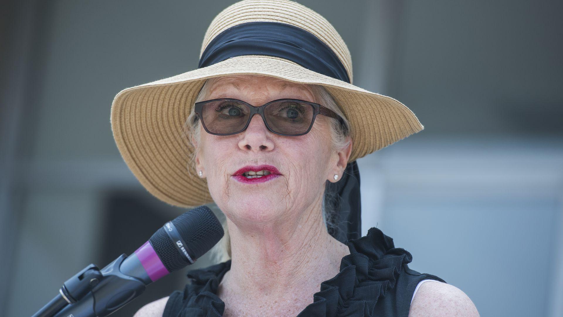 Carol Miller speaks