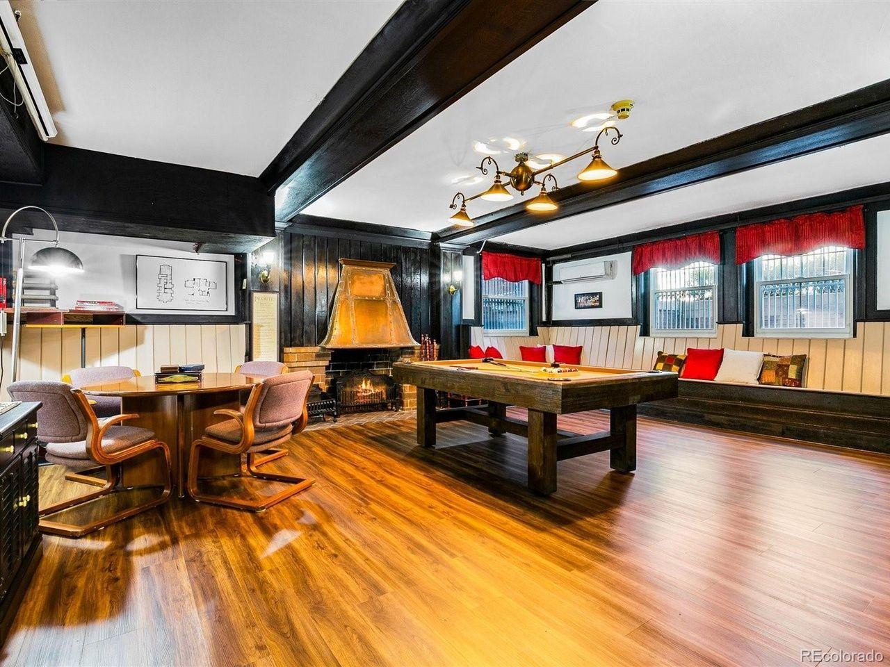 1350 N. Logan St game room