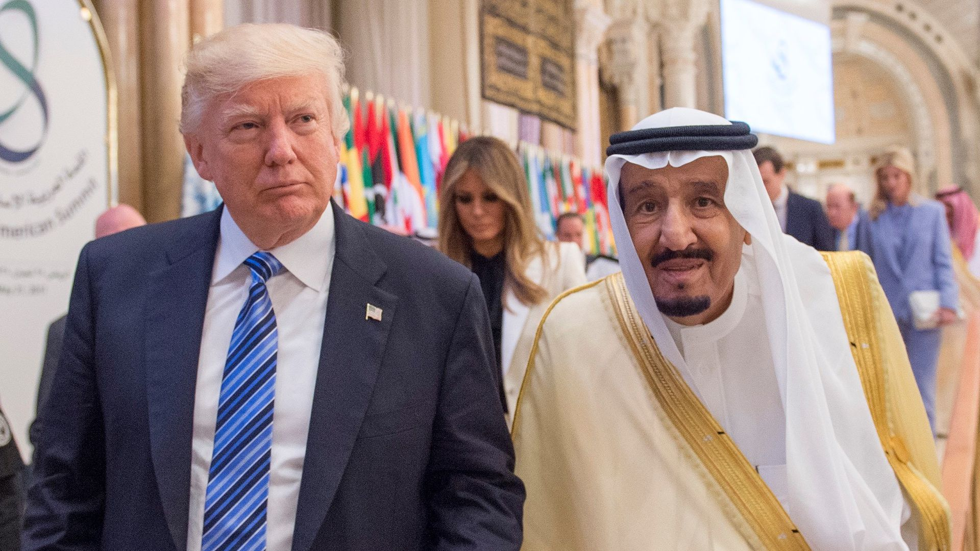 Republicans press Trump on Saudi response after conciliatory King Salman tweet