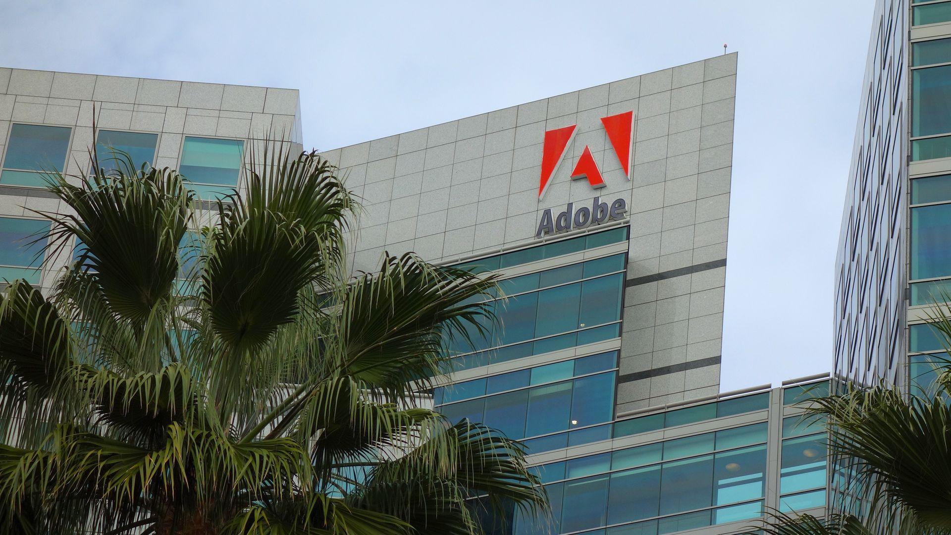 Adobe's San Jose Calif. headquarters