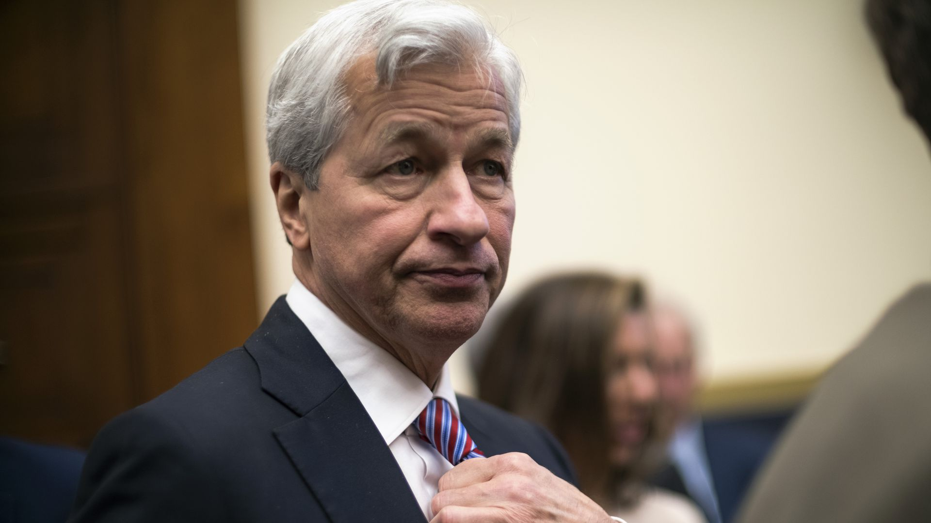 "JP Morgan's Jamie Dimon calls wealth gap a ""huge problem"" but defends CEO pay"