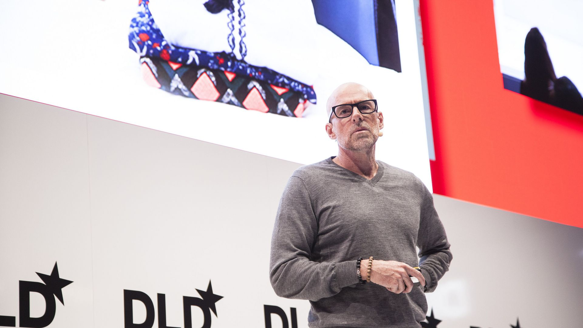 Scott Galloway, speaking at DLD18 in Munich, Germany