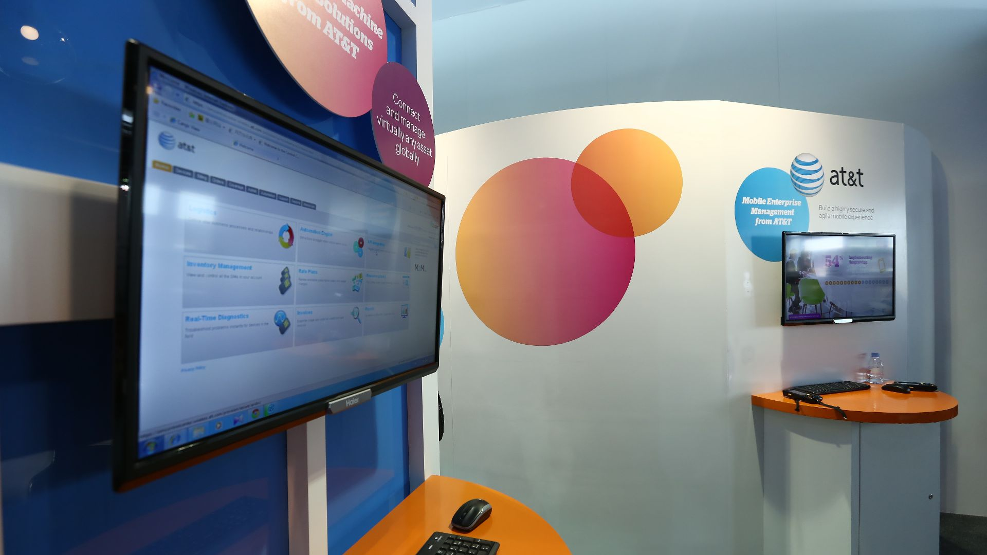 AT&T booth