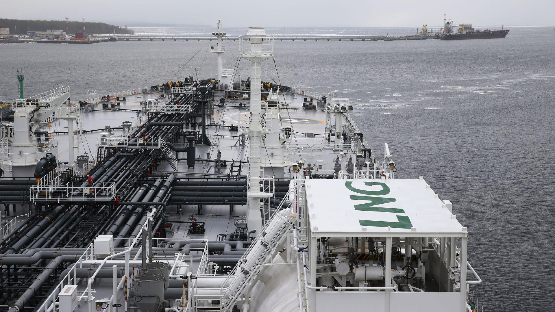 Mendeleev Prospect oil tanker