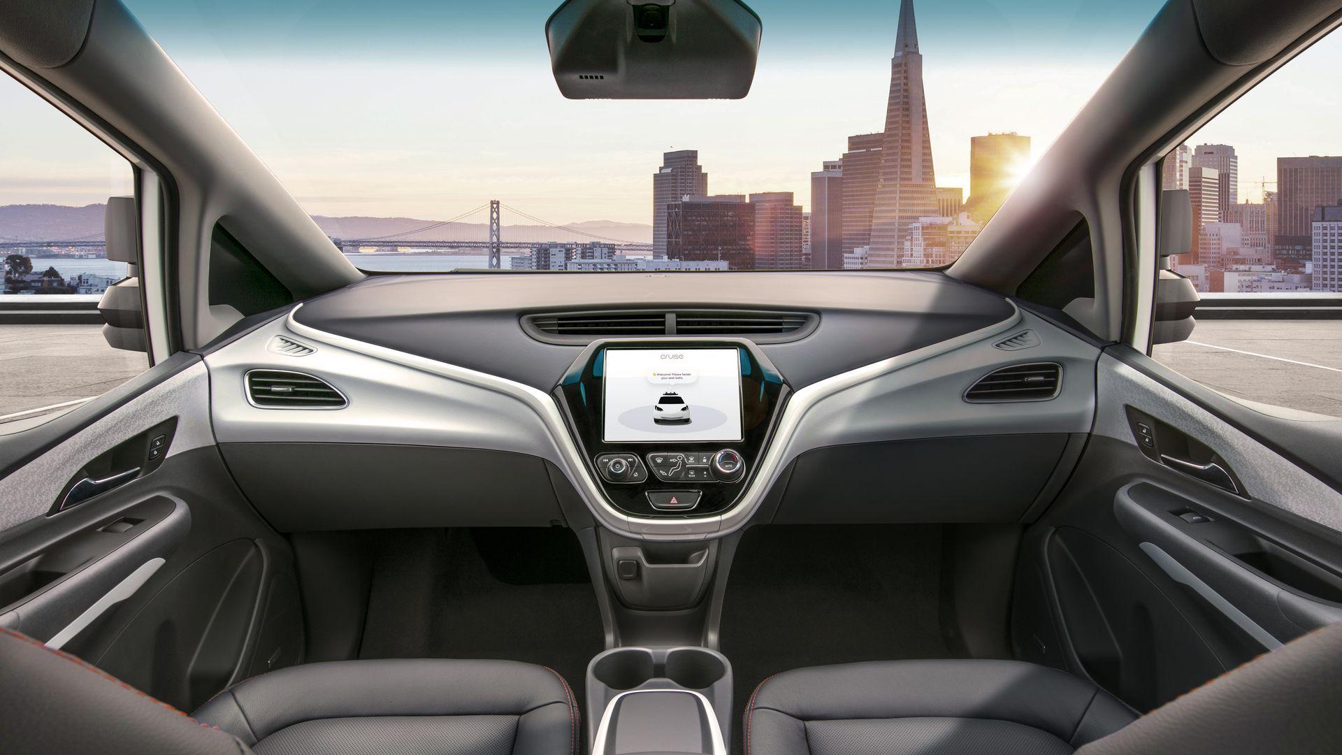 GM's driverless EV concept