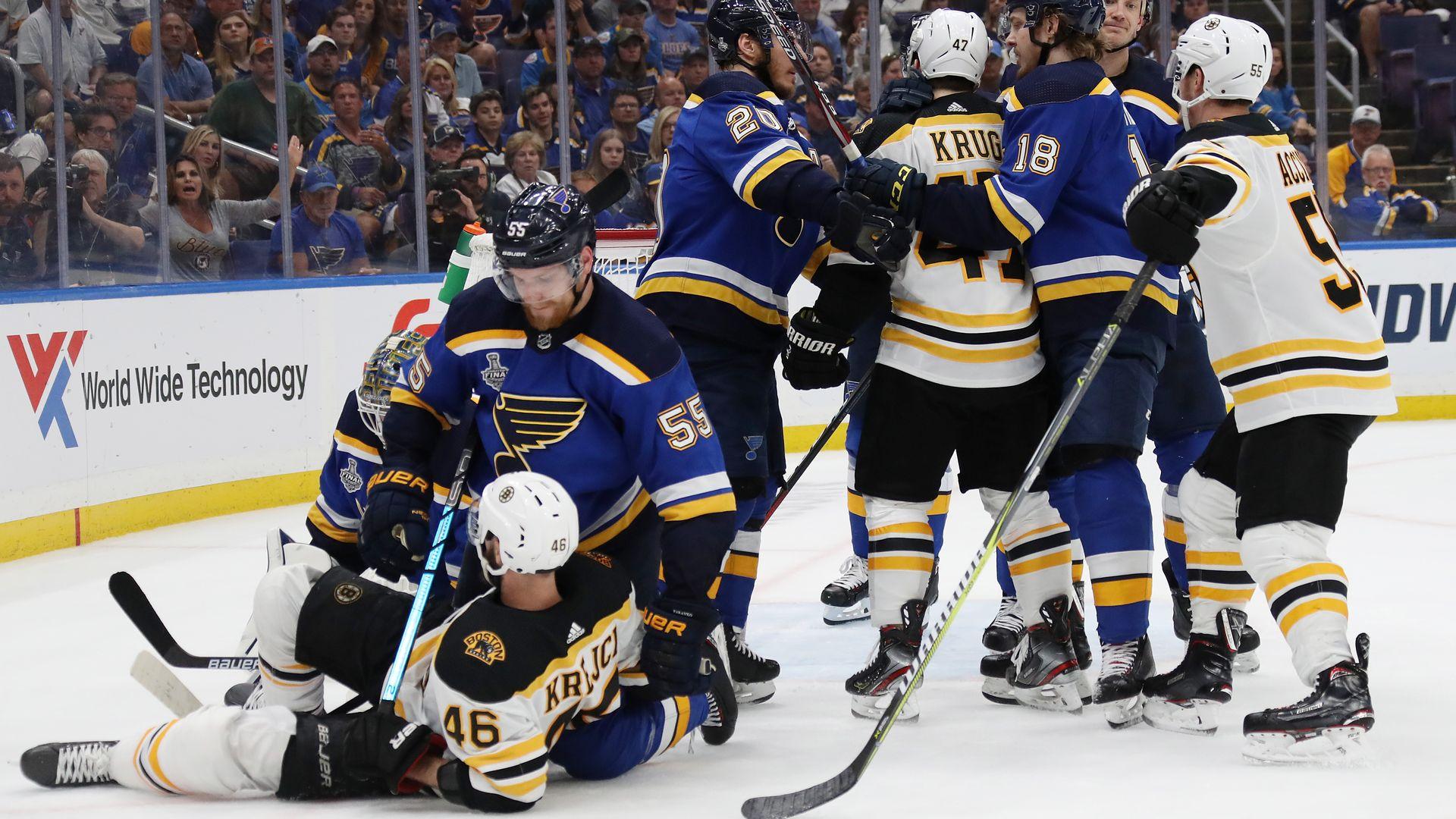 Bruins vs. Blues