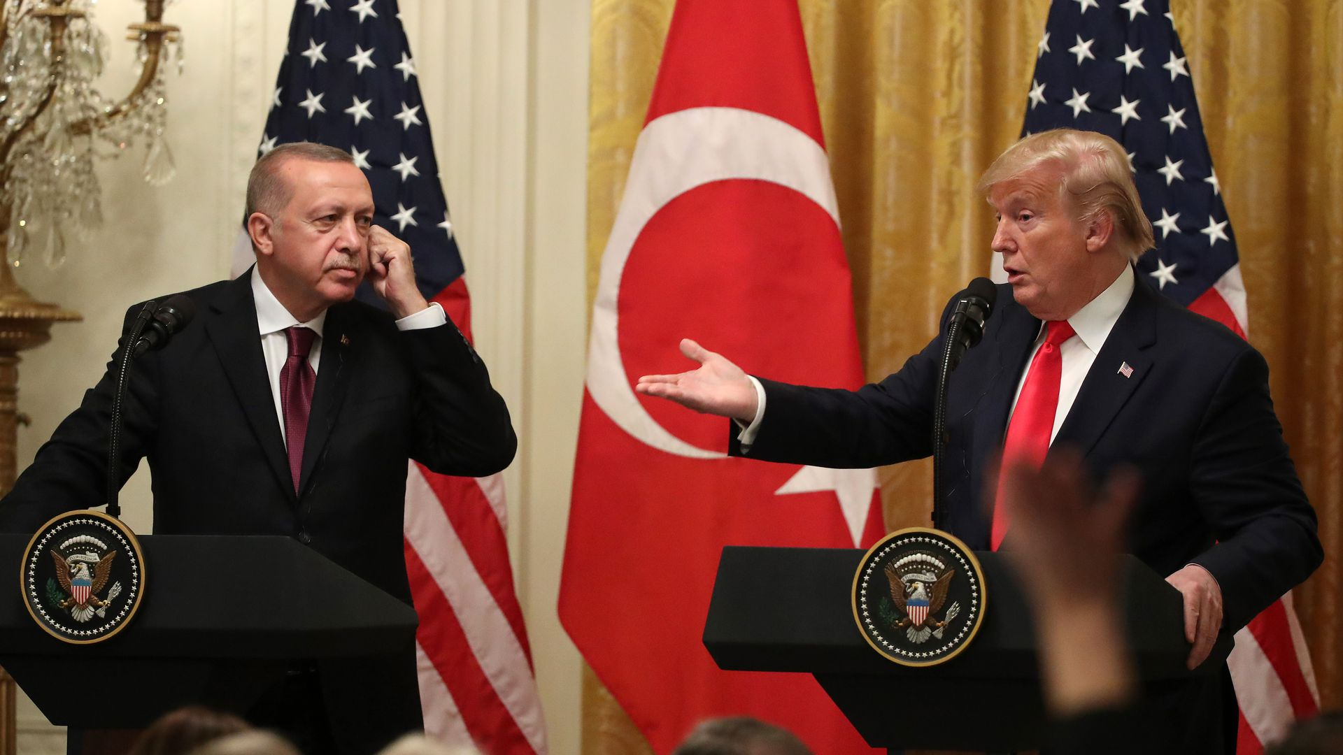 "Trump praises Turkey's Erdoğan as ""great ally"" despite Syria tensions"