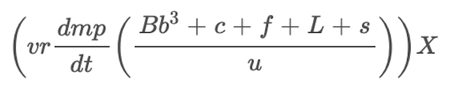 Sports team valuation formula