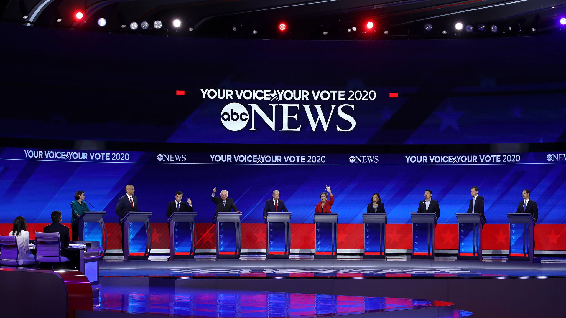 3rd Democratic Debate - cover