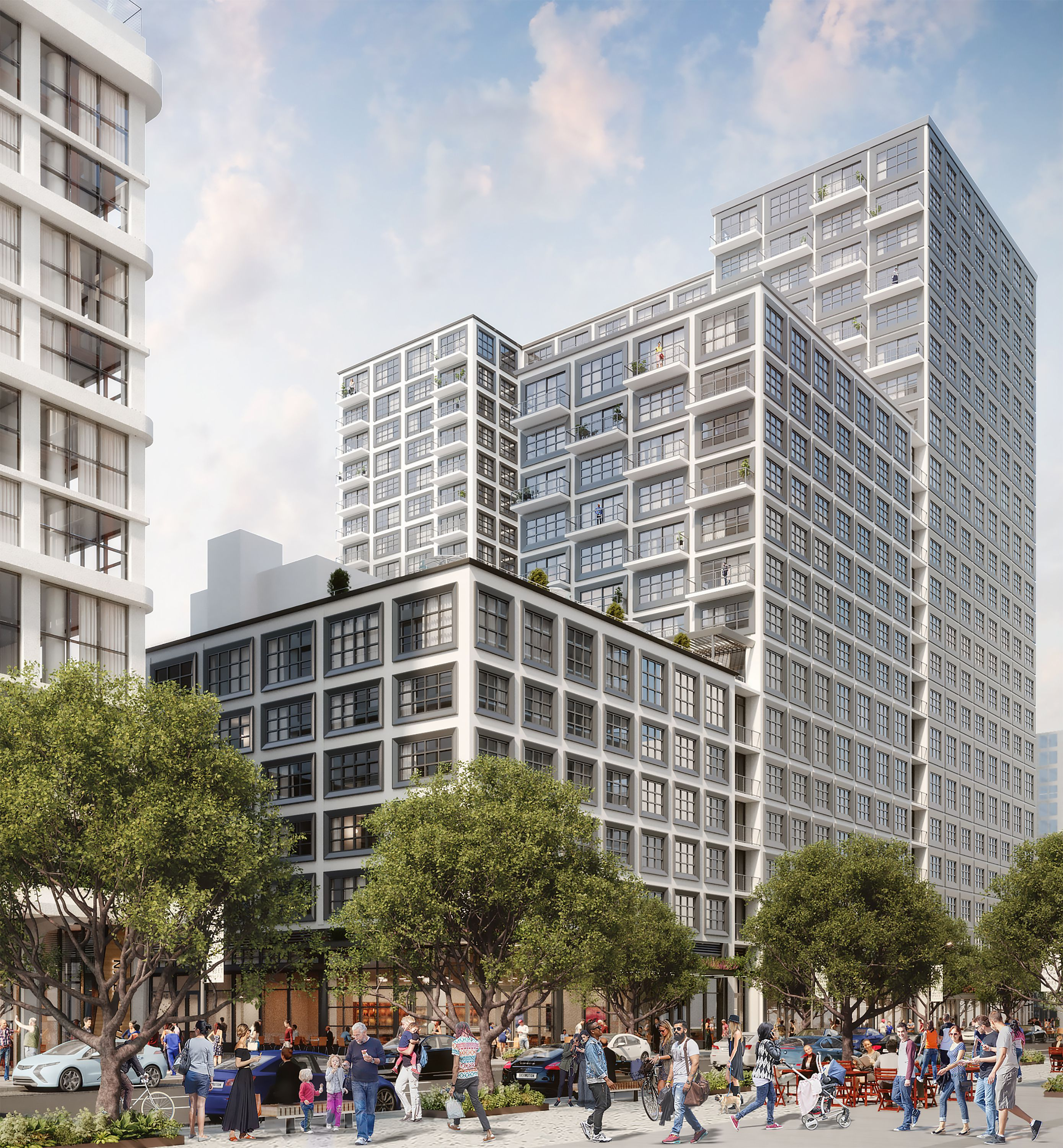 Rendered from 1050 Water Street.