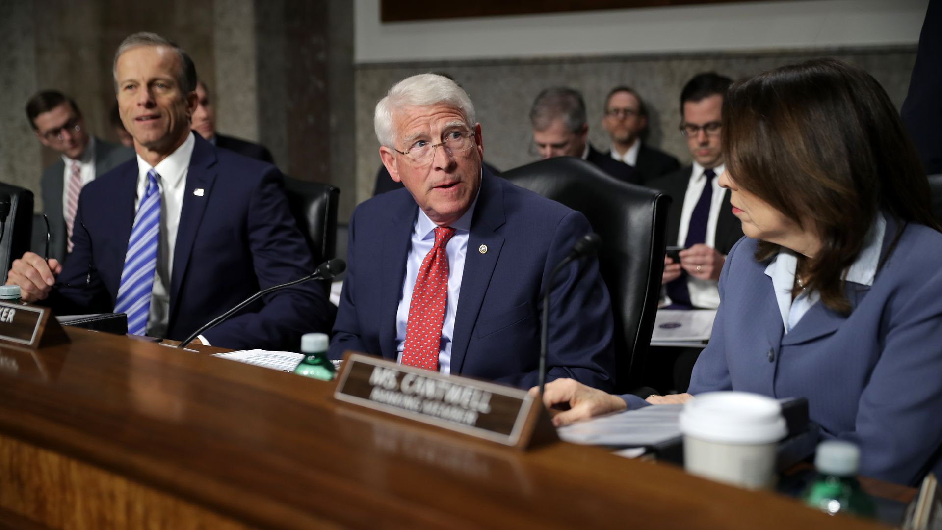 Senate Commerce Committee chairman Roger Wicker