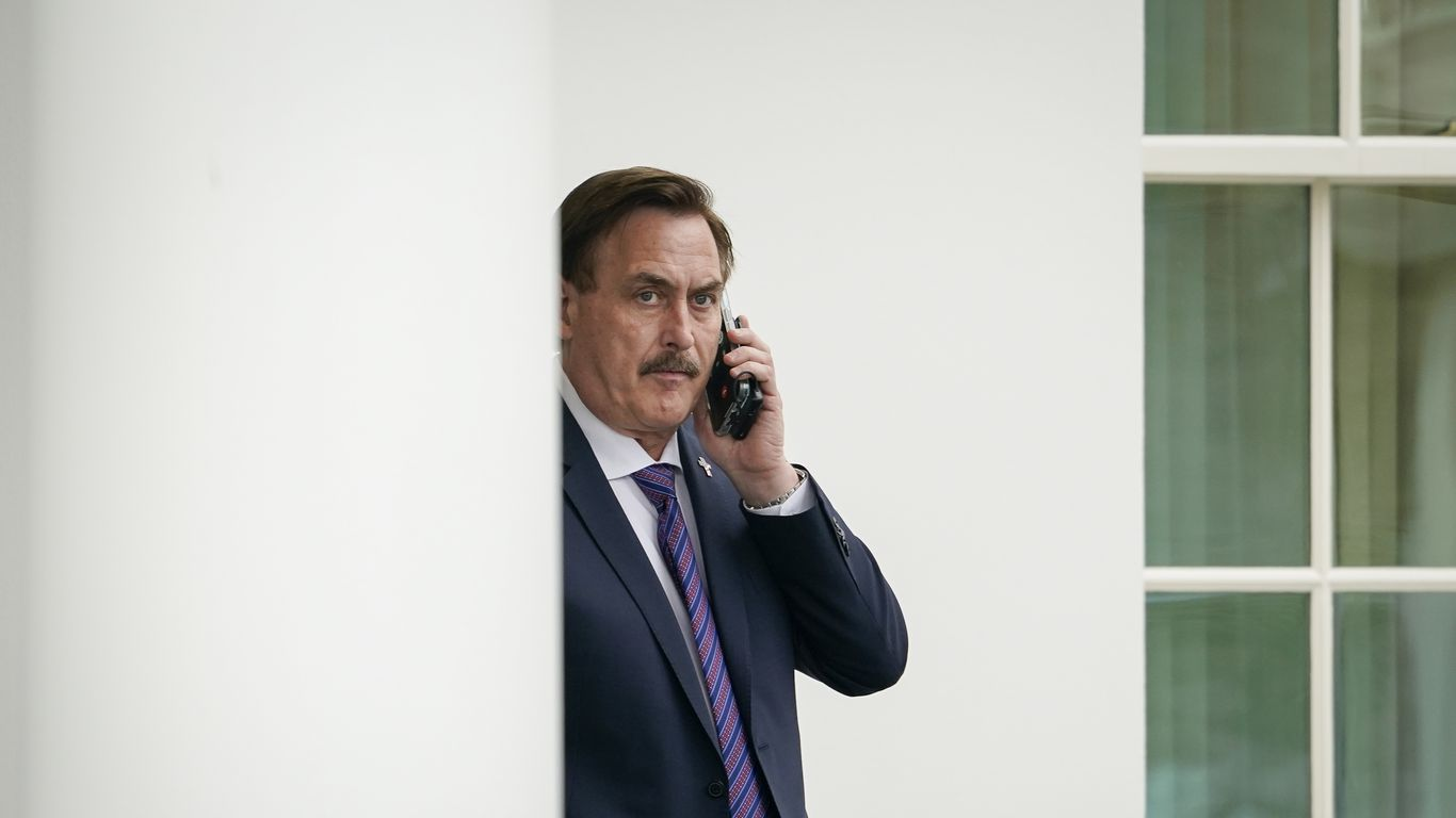 Dominion files $1.3 billion defamation lawsuit against MyPillow CEO Mike Lindell thumbnail