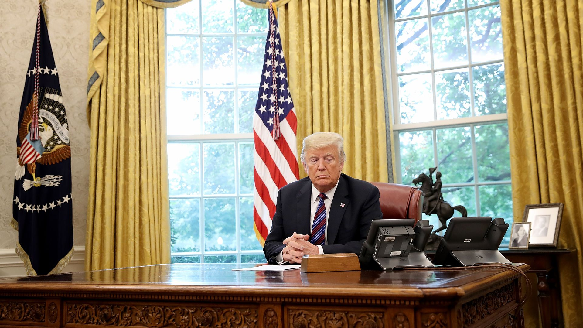 President Donald Trump. Photo: Win McNamee/Getty Images