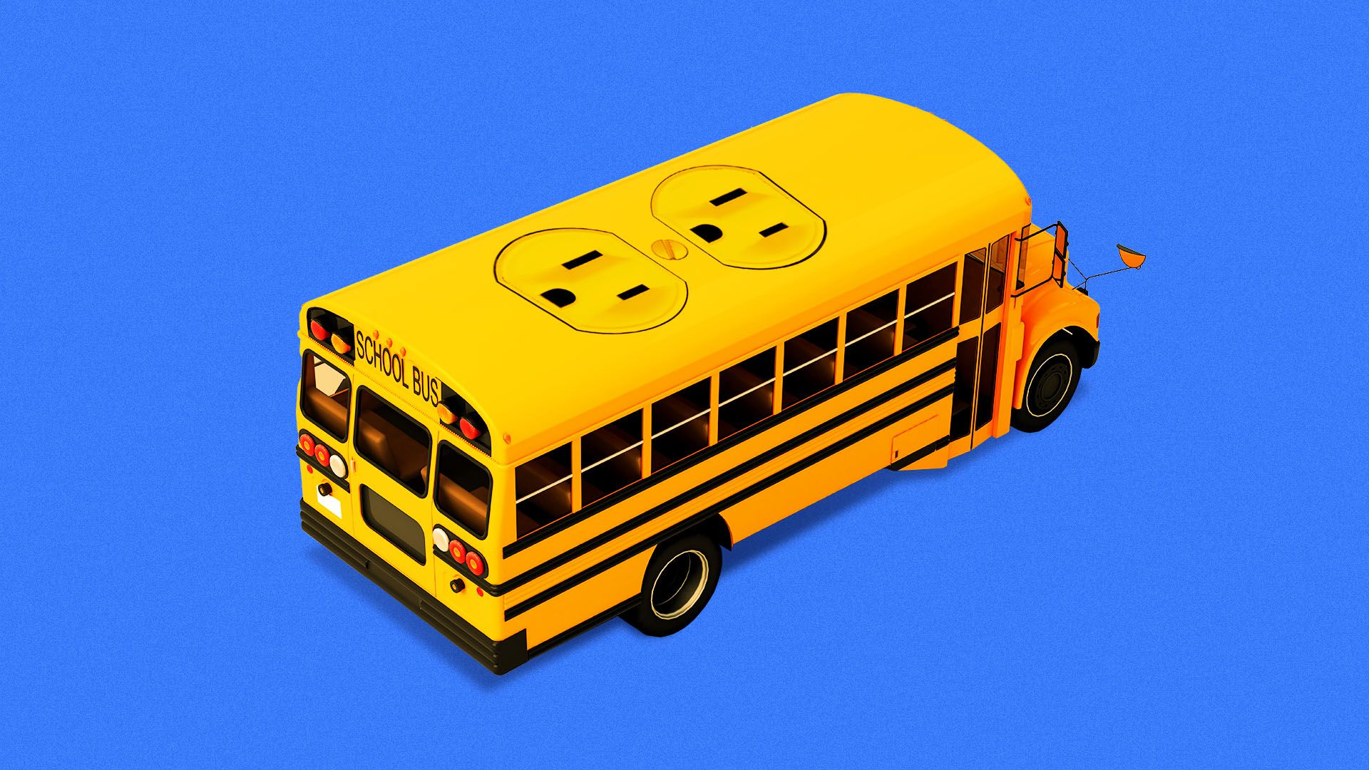 Fleets of electric school buses are being tested to store power for the grid