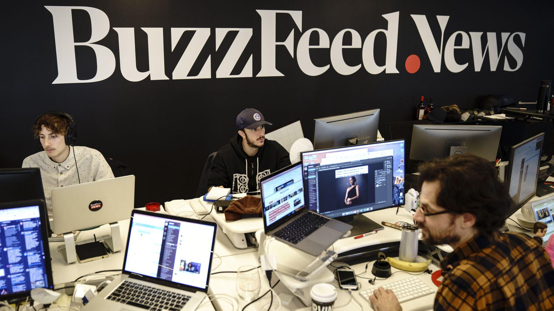 BuzzFeed reverses course after PTO backlash - Axios