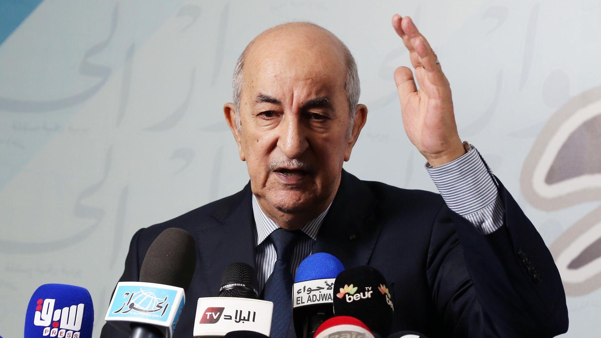 Win for insider in presidential election sparks protests in Algeria