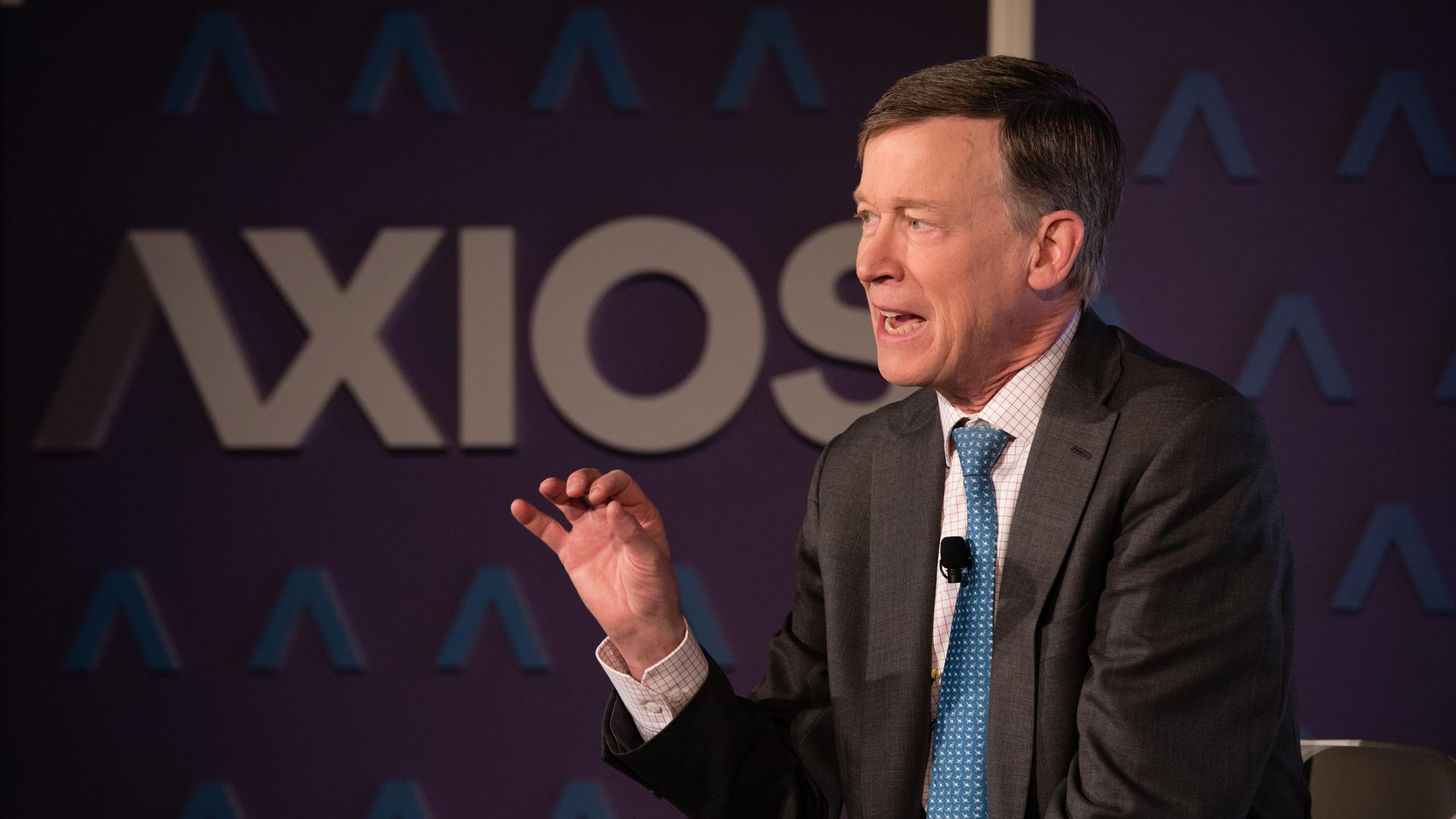 John Kasich speaks at Friday's Axios event