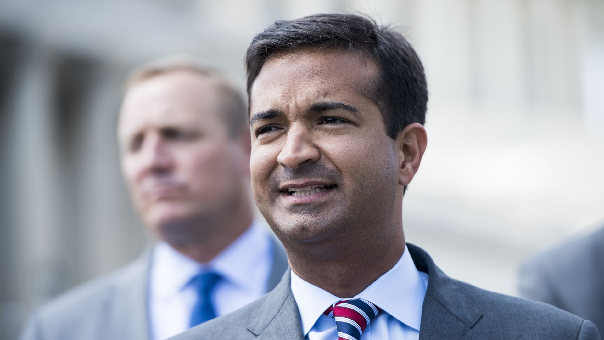 Rep. Carlos Curbelo speaks at a press conference