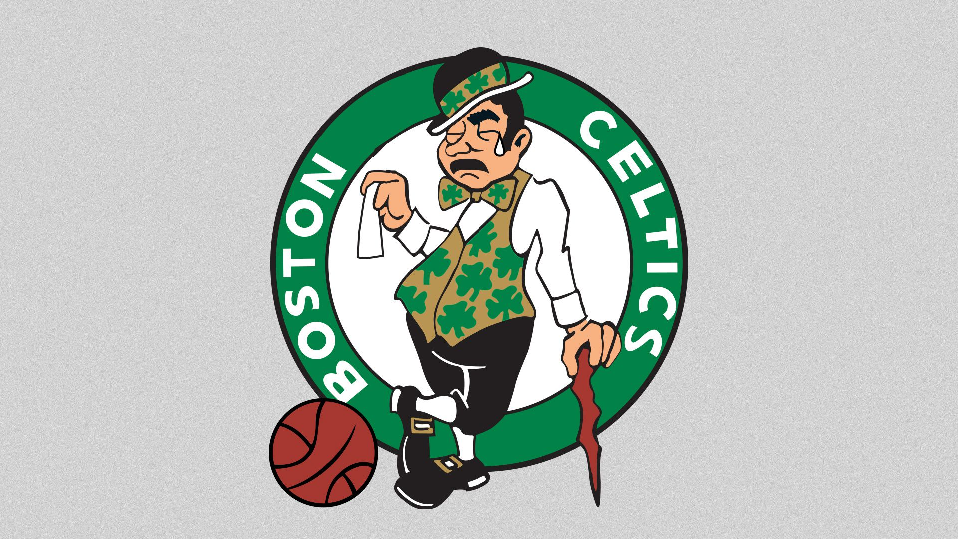 Celtics logo crying