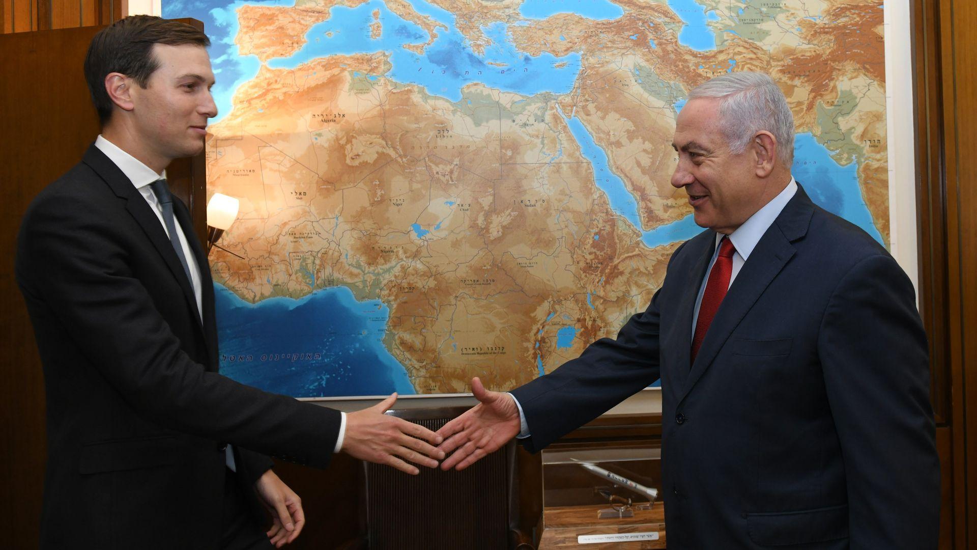 Scoop: Kushner expected to meet Netanyahu and Gantz on Israel trip