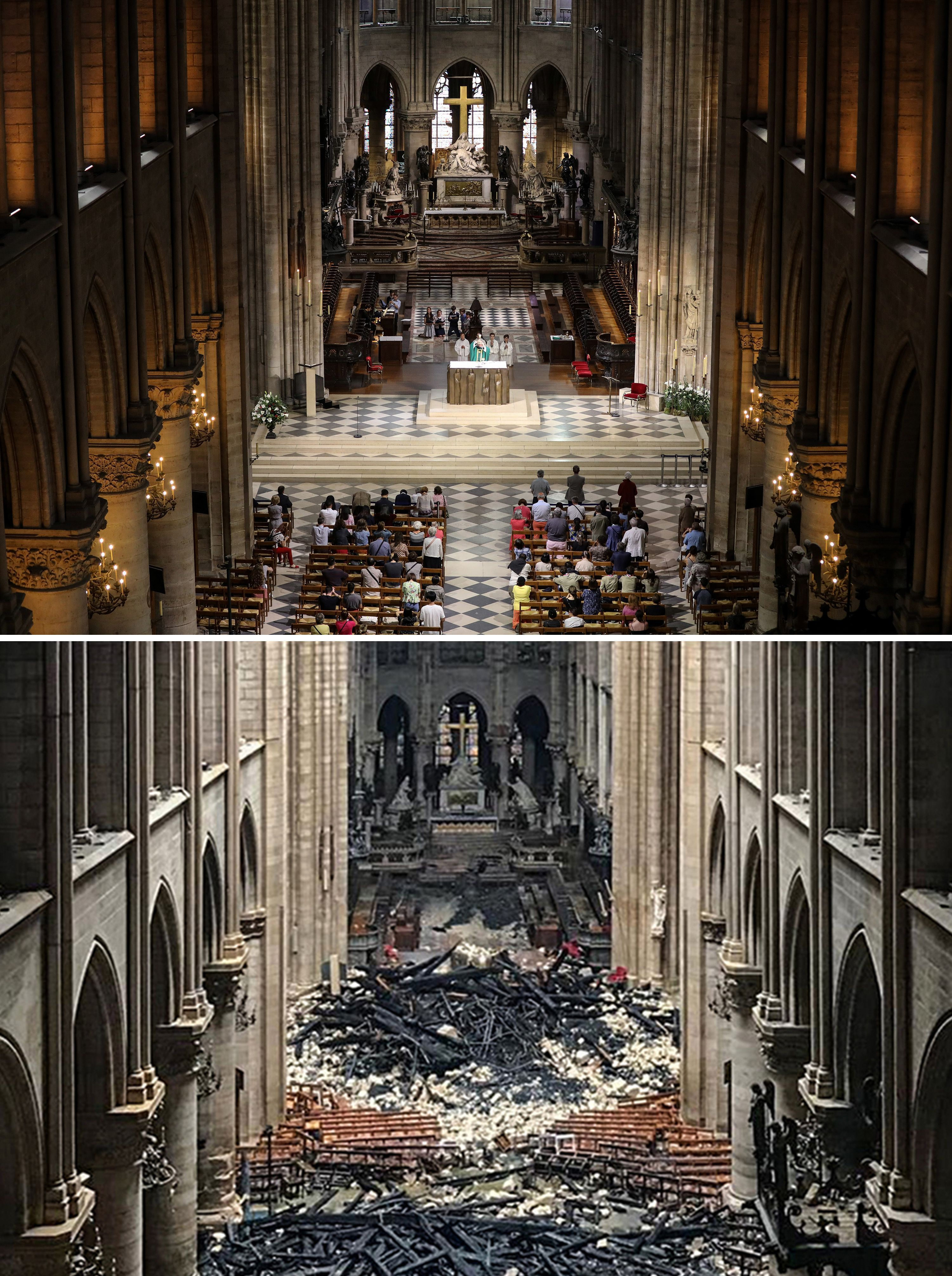 The Miracle At Notre Dame Axios