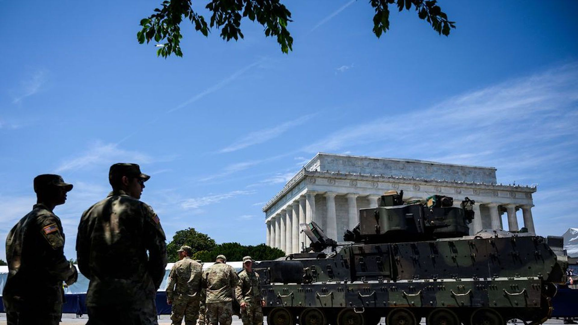 Tanks, missiles to be paraded through Washington for the 4th of July