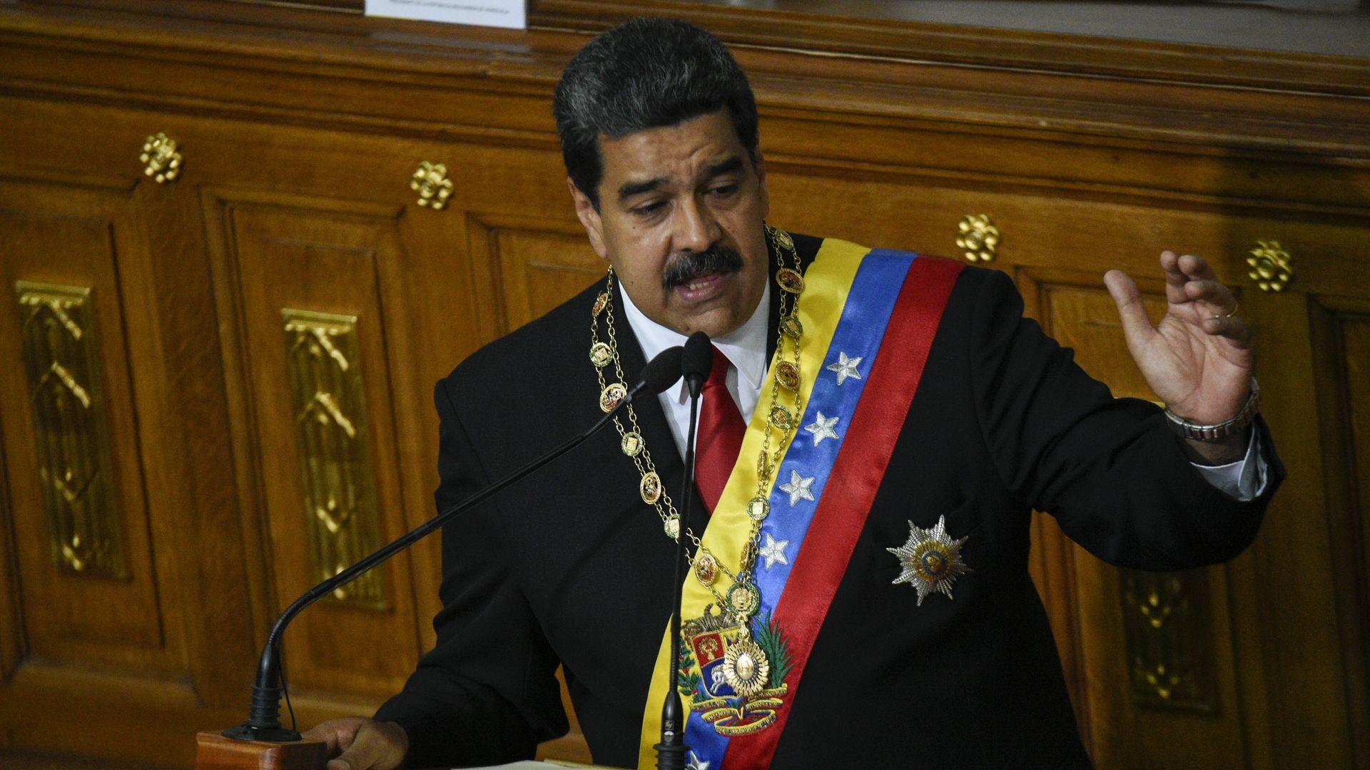 Venezuelan President Maduro.
