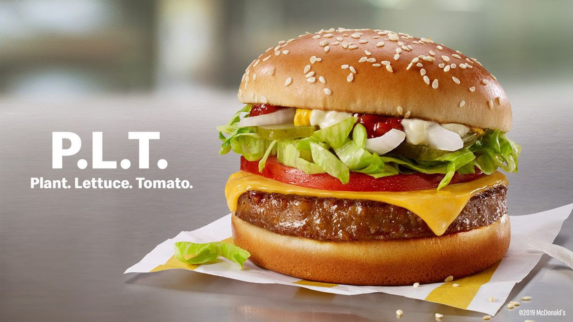 McDonald's new vegan burger