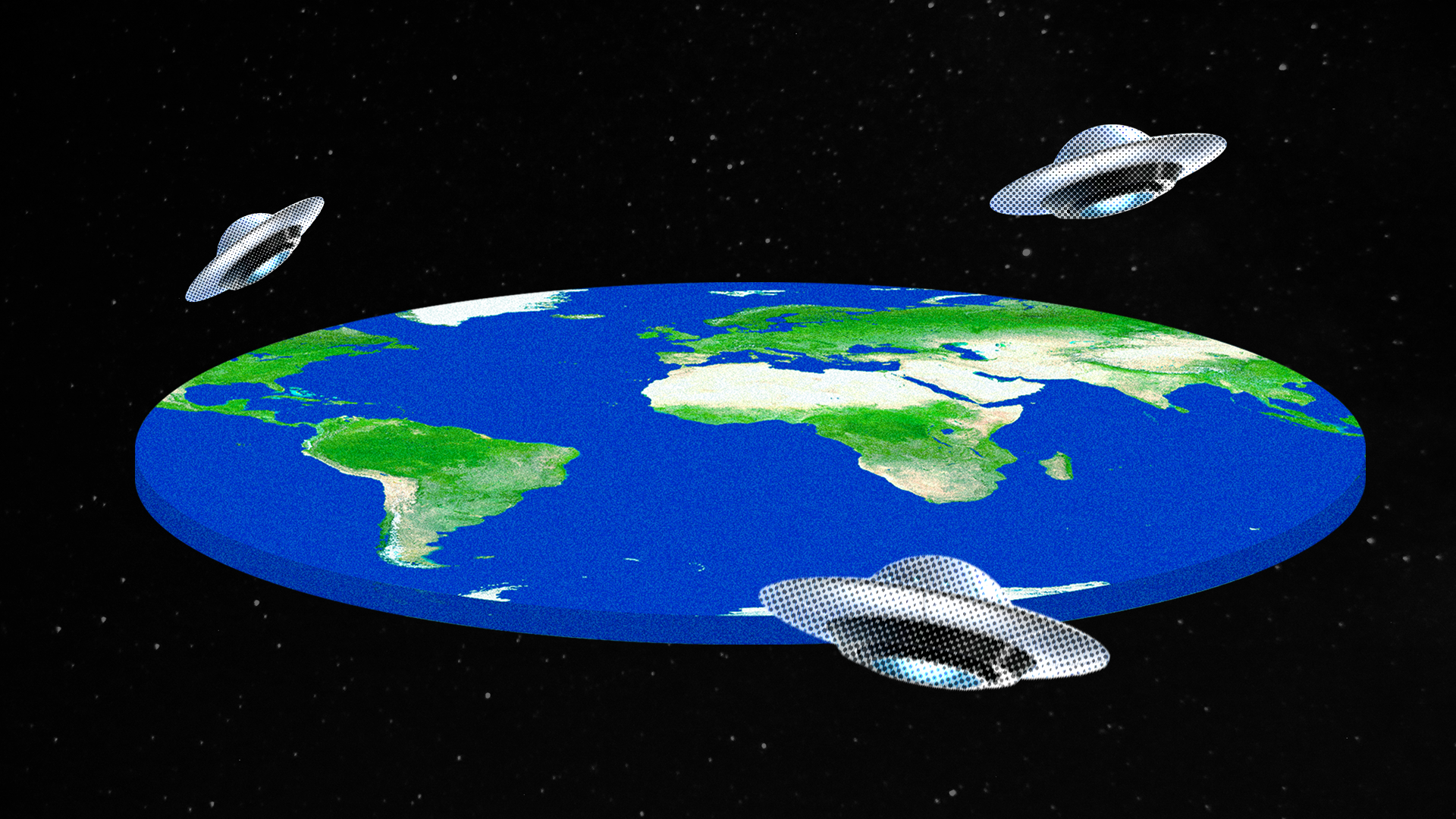 The Science Of Conspiracies Where Flat Earth Meets Pizzagate Axios