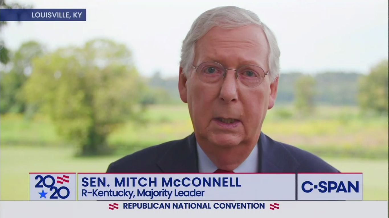 "McConnell at RNC: ""We are the firewall against Nancy Pelosi's agenda"""