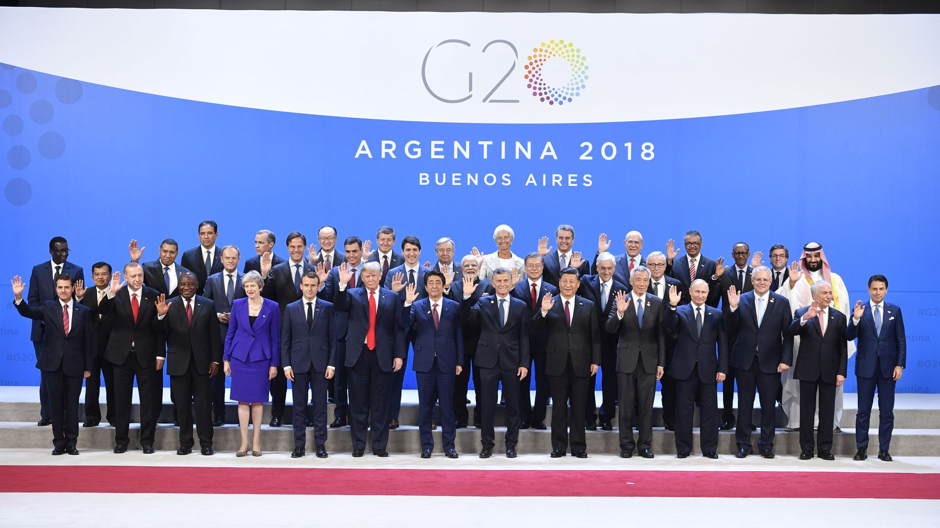 Leaders at the G20 Summit