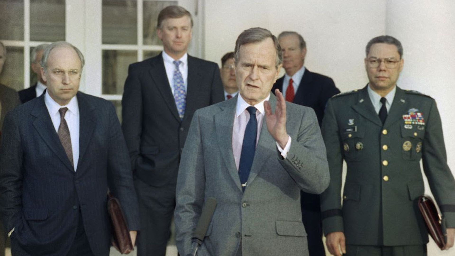 George HW Bush: emblematic of