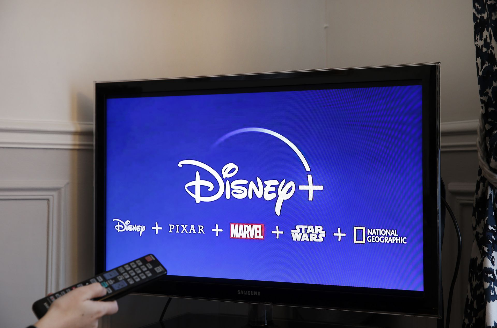 Disney had a very good day after millions sign up for new streaming service