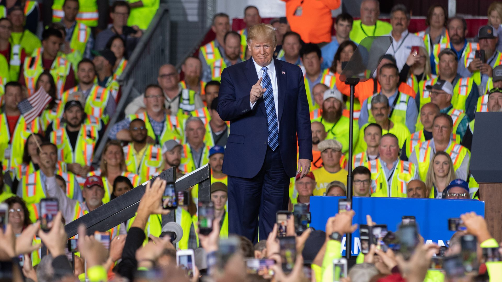 Shell union workers in Pennsylvania told to attend Trump speech or lose out on wages: Reports