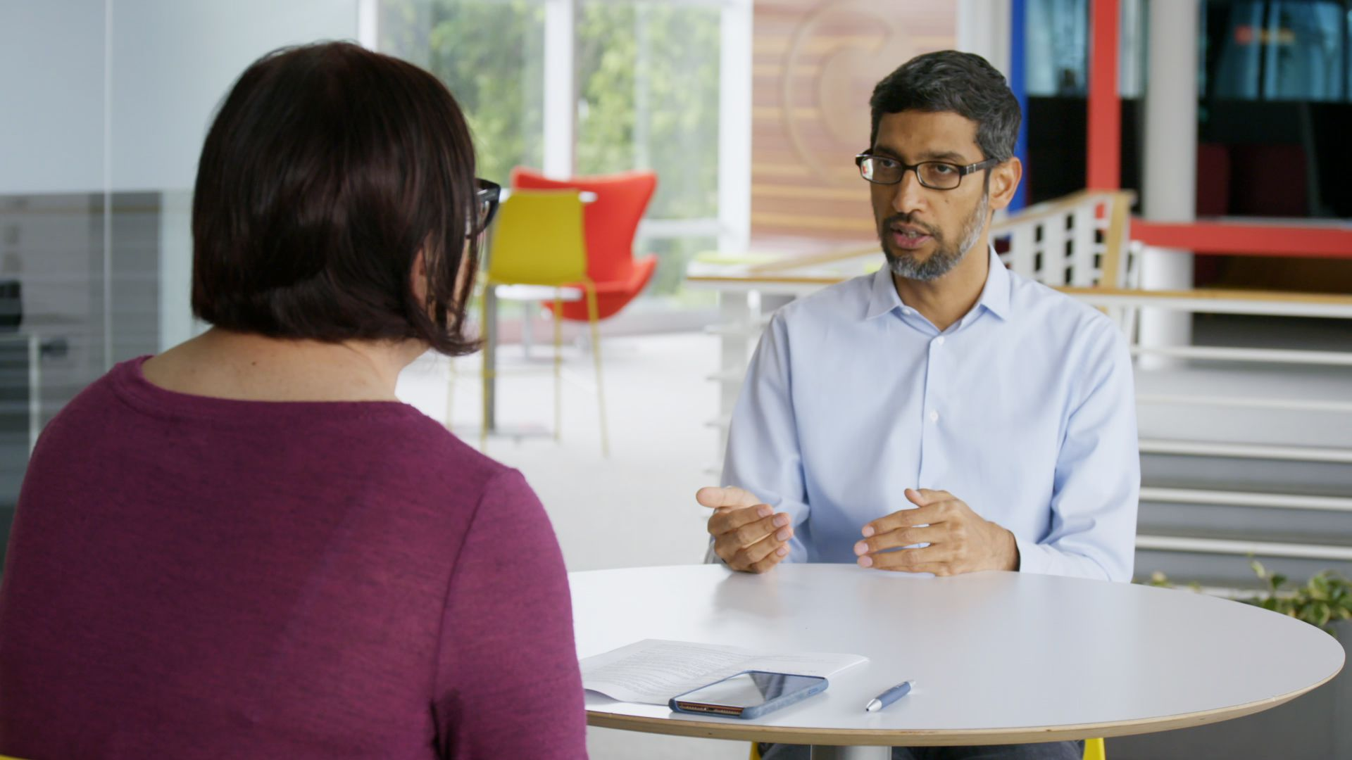 Exclusive interview: Google CEO defends YouTube practices