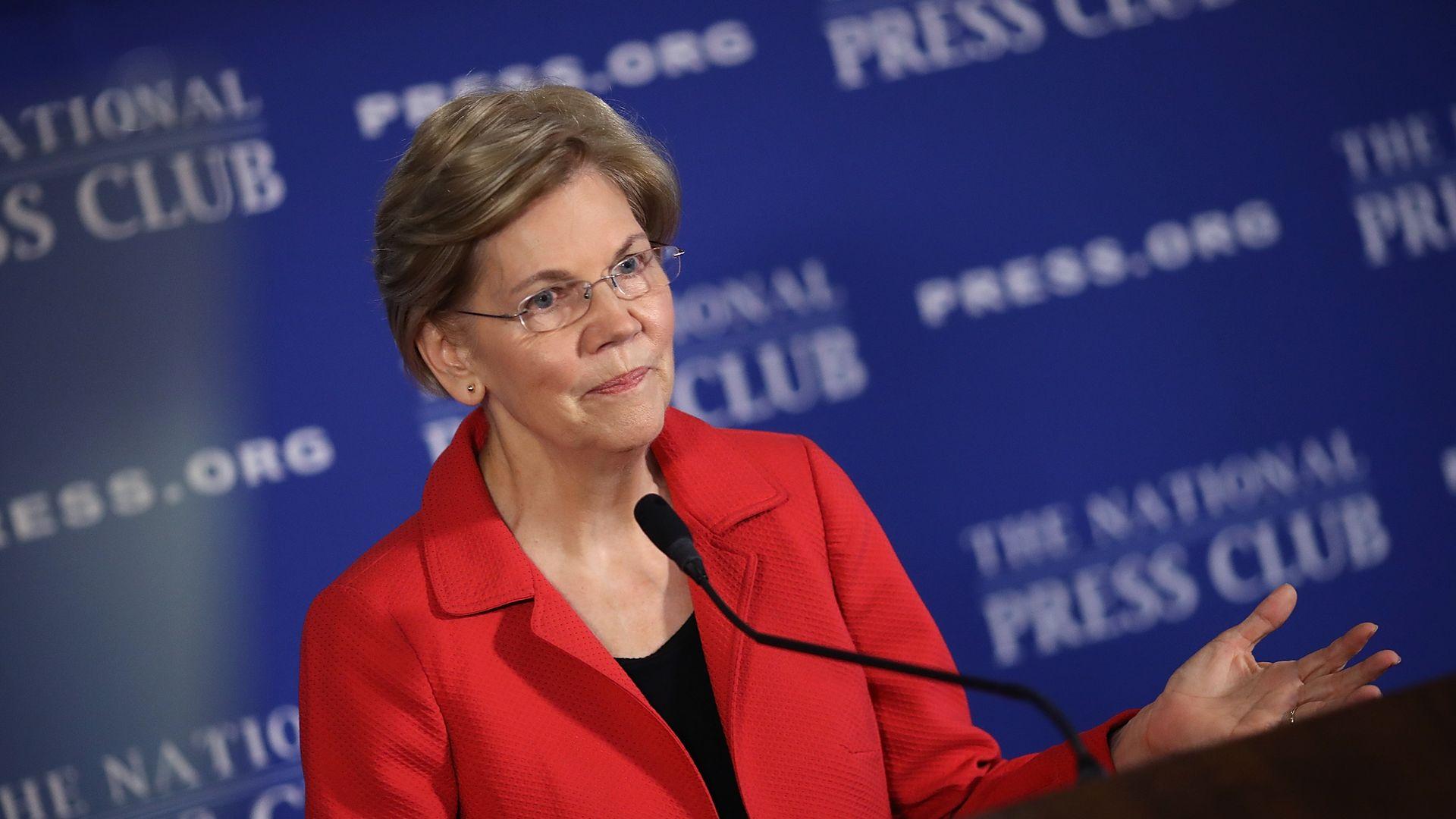 Elizabeth Warren releases DNA test on Native American