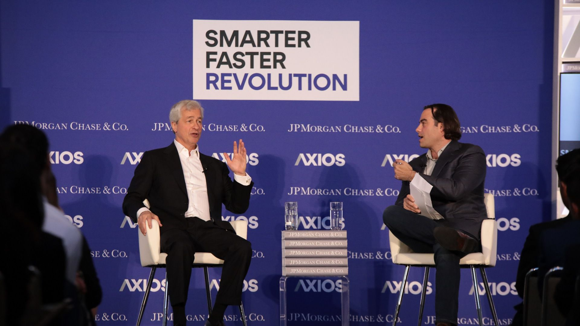 Jamie Dimon speaks at UCLA