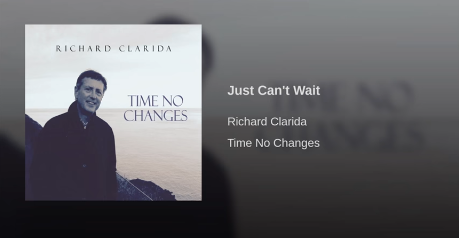 A screenshot of Richard Clarida's album cover from a Youtube video.