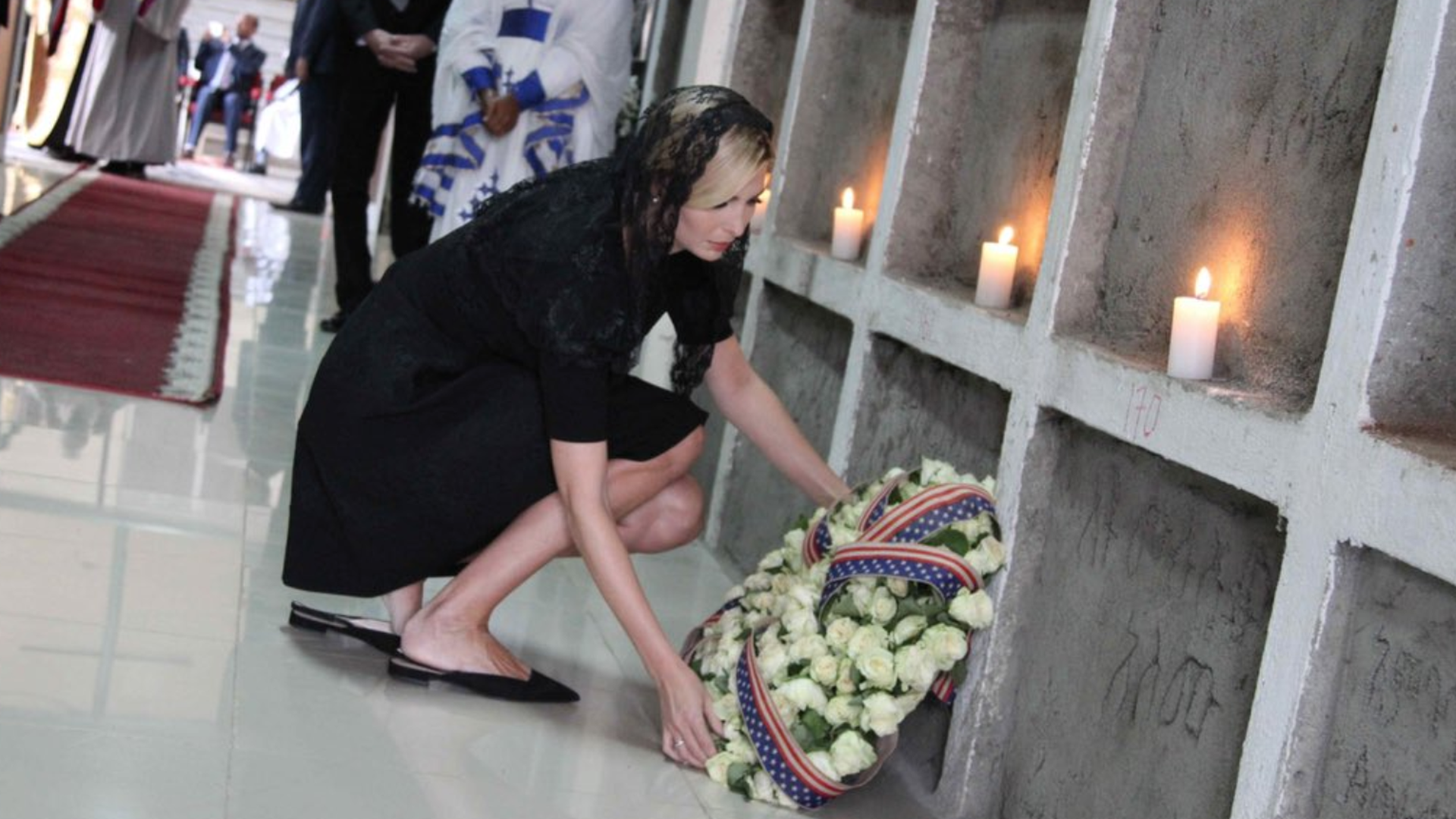 Ivanka Trump honors the Ethiopian Airlines crash victims.