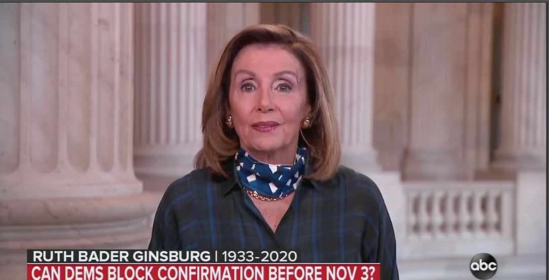 """Pelosi: Trump wants to """"crush"""" Affordable Care Act with Ginsburg replacement thumbnail"""