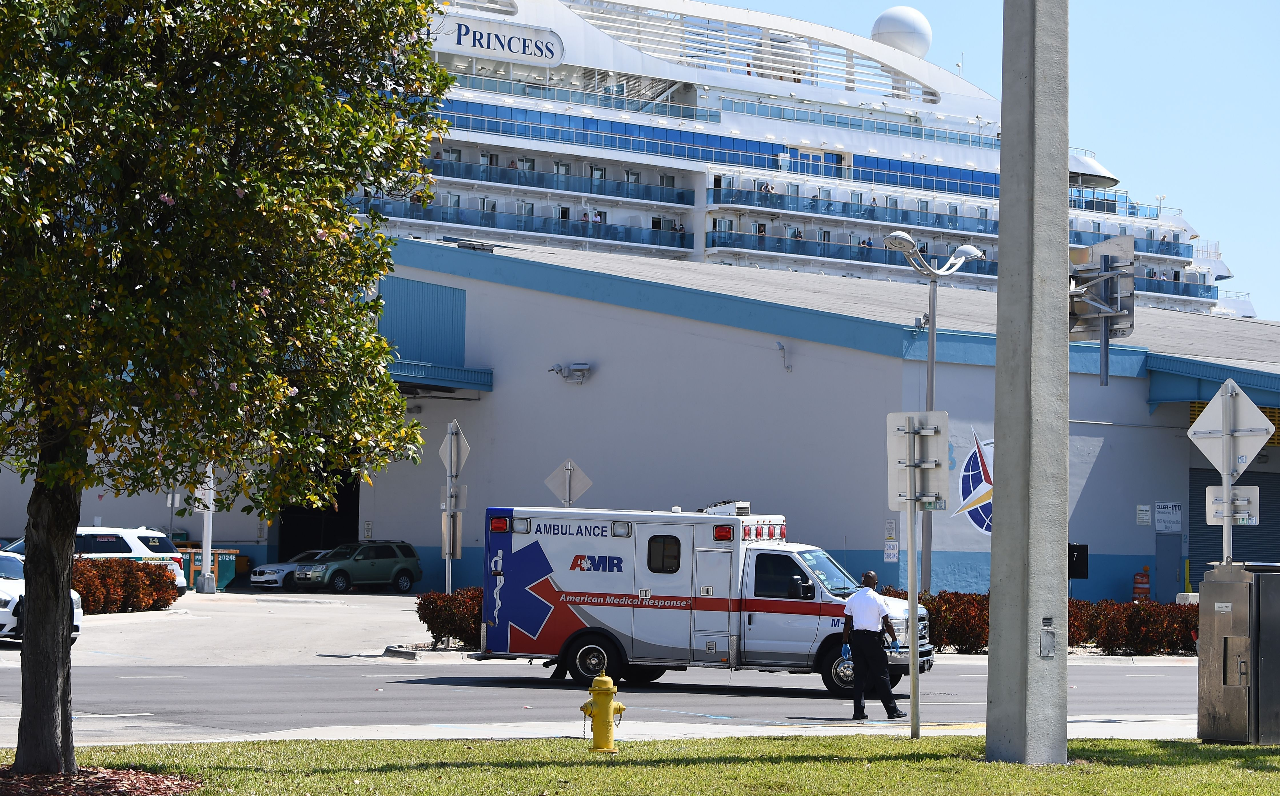 Cruise ship docks in Miami with 2 dead and several ill after coronavirus outbreak