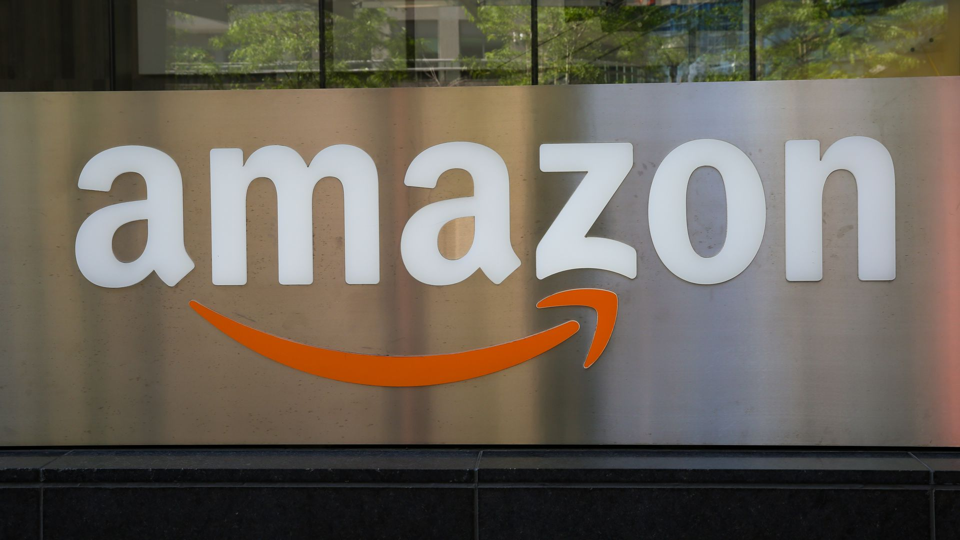 Amazon Inc. sign