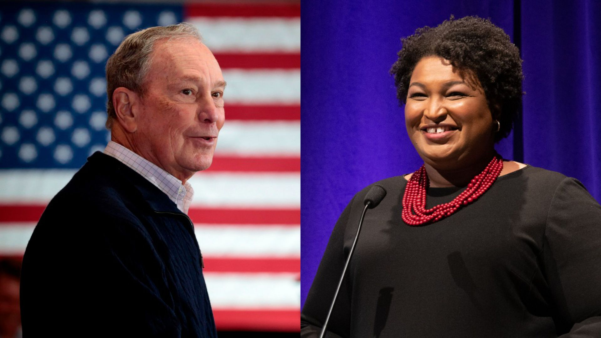 Bloomberg to join Stacey Abrams at voting rights event in Georgia