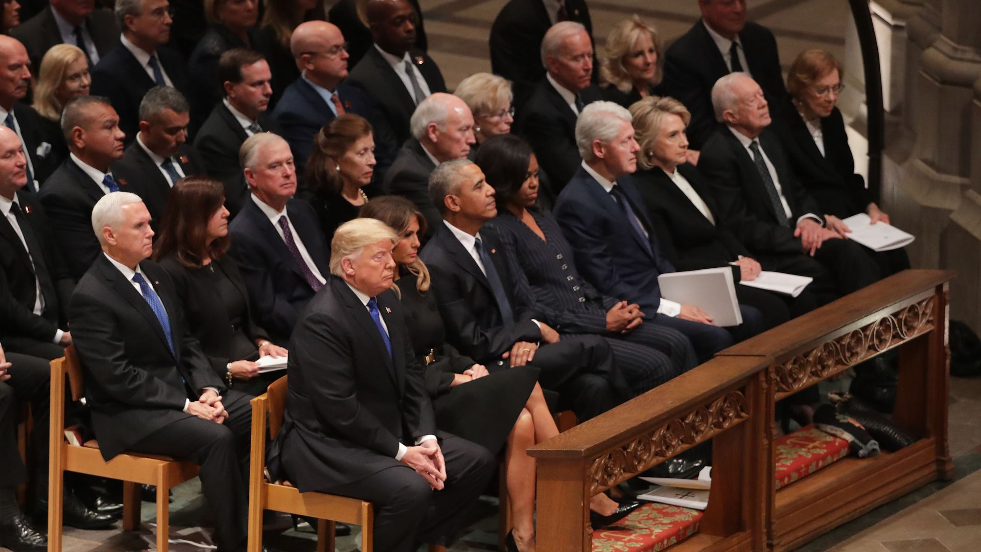 Image result for george h w bush funeral