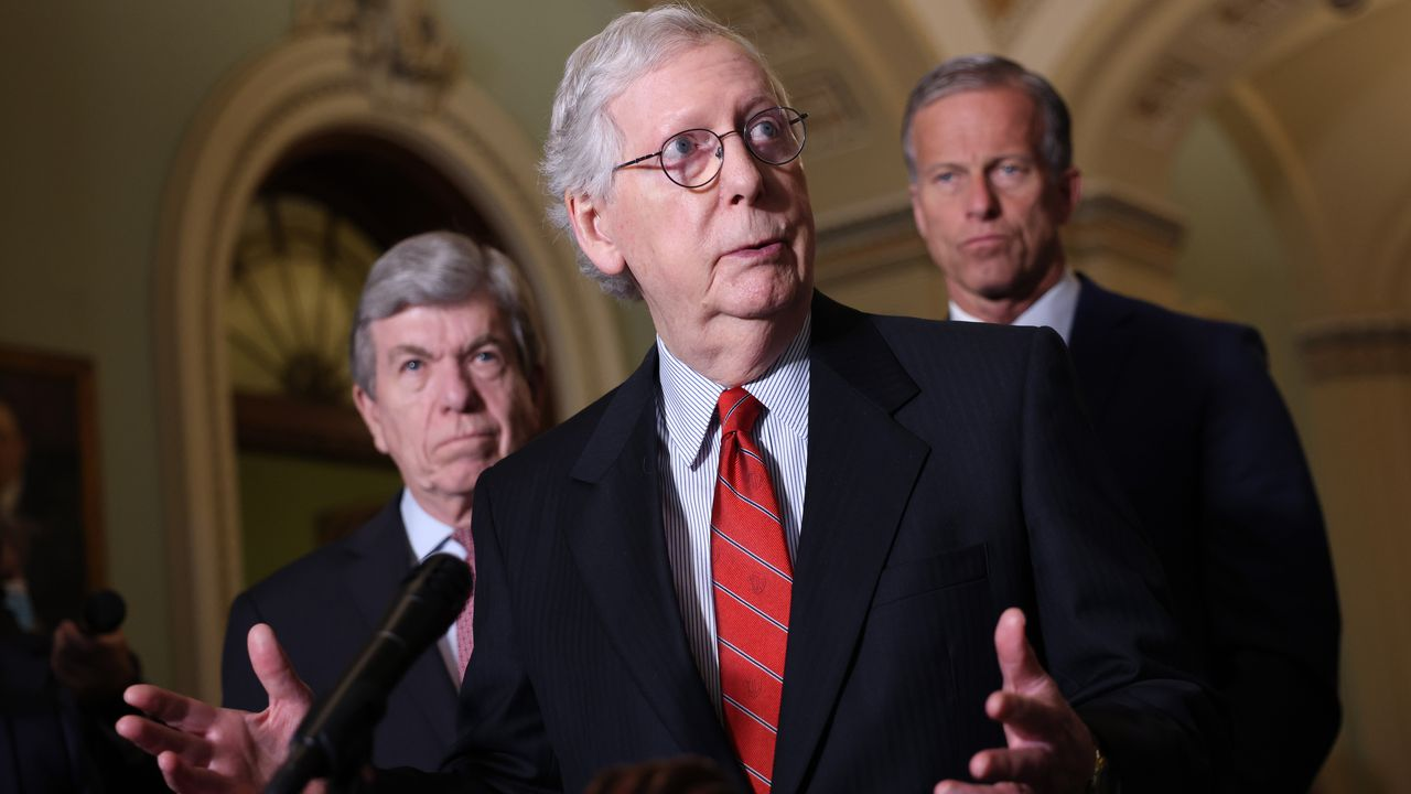 """""""Same rotten core"""": McConnell rejects Manchin's voting rights compromise"""